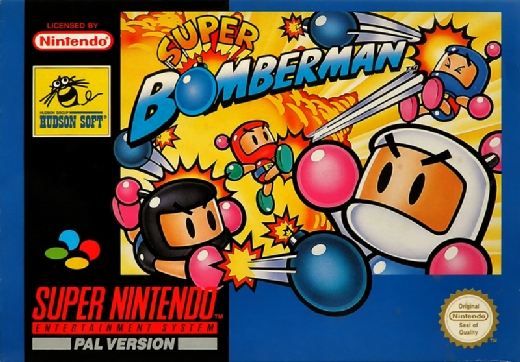 Super Bomberman Super Nintendo Game