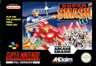 Super Smash TV Super Nintendo