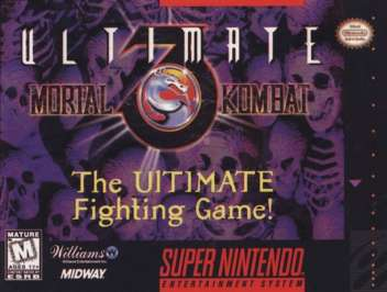 Ultimate Mortal Kombat 3 Super Nintendo
