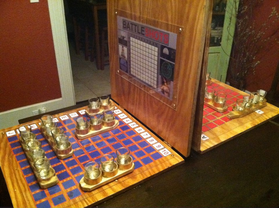 Battle Shots Proof That Any Game Can Be Drunkified