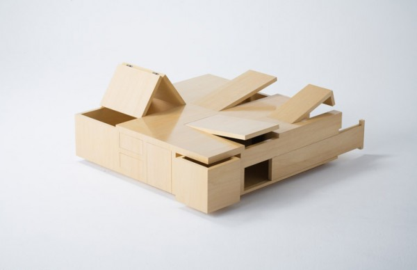 This Coffee Table Has Gone Secret Compartments Crazy