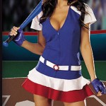 hot girl baseball
