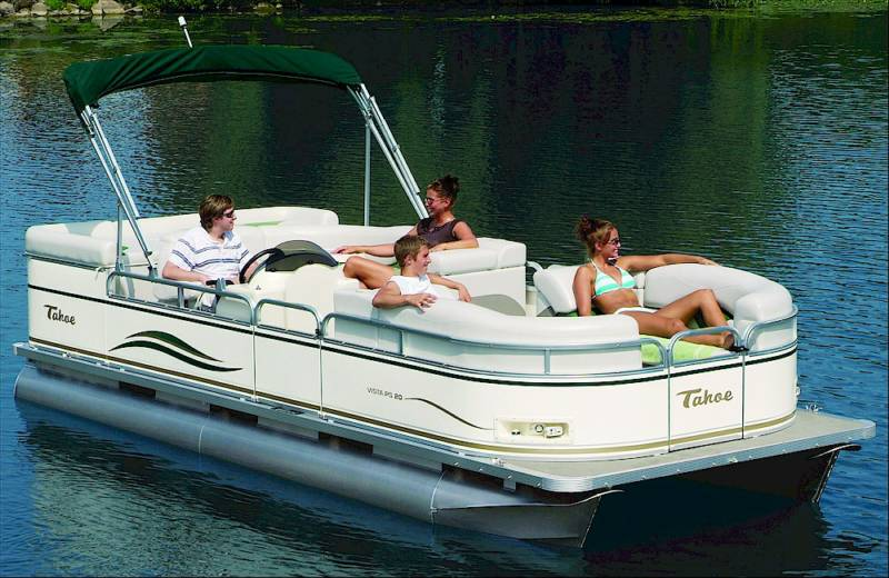 pontoon-boat