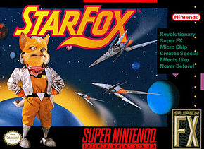 Star Fox SNES Game